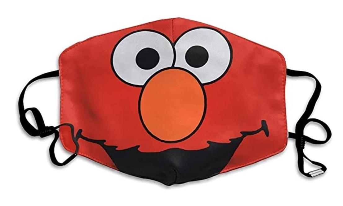 Elmo Sesame Street mask