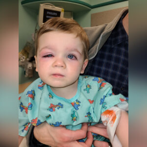 """THROW THEM OUT."" Mom Warns of Tub Toy Dangers After Toddler's Terrifying Infection"