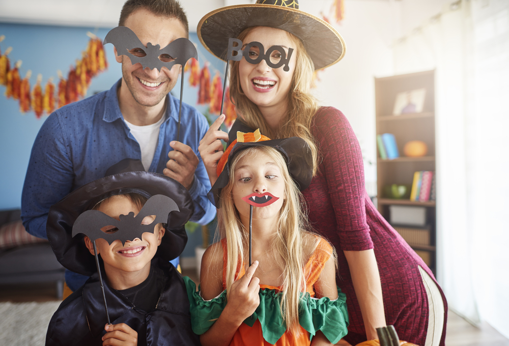 Family Halloween fun at home