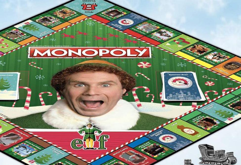 Elf Monopoly board