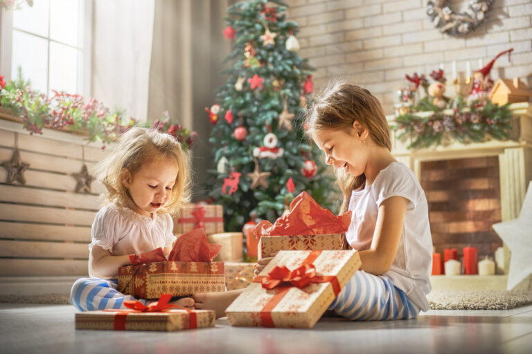 Girls Christmas Shopping