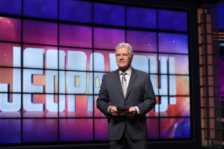 Alex Trebek Jeopardy! host