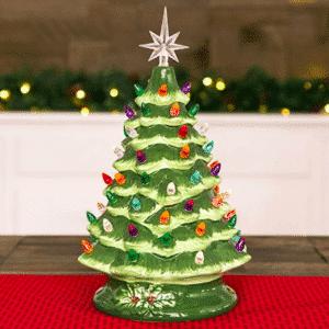 This Nostalgic Ceramic Christmas Tree Brings Back Memories of Christmas With Grandma