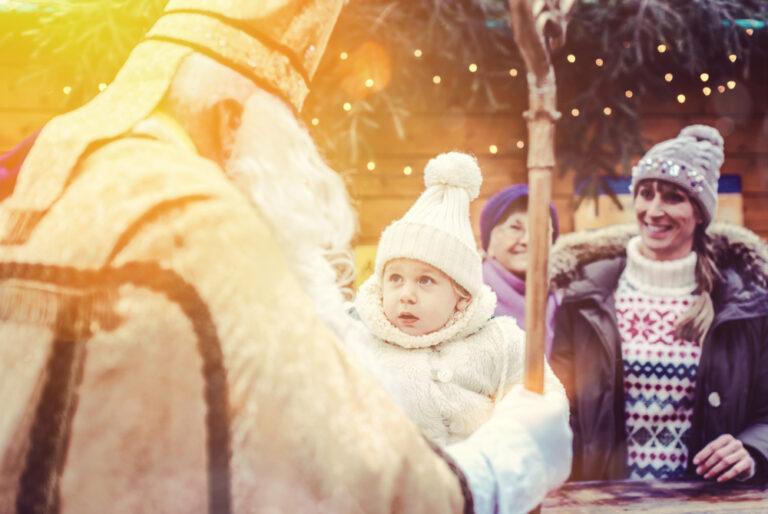 Saint Nicholas and child