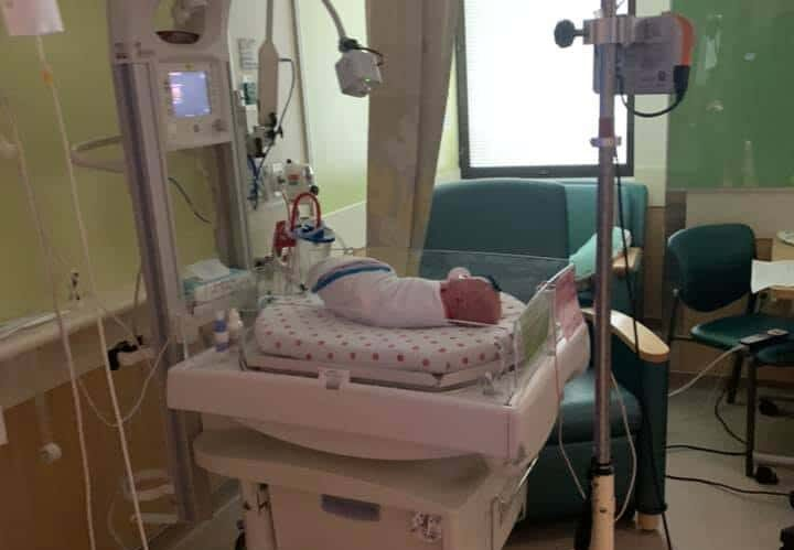 Child in NICU