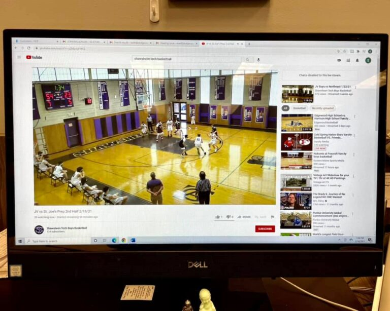 Basketball game online stream