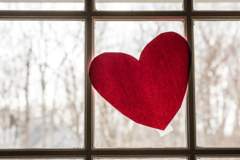 Window heart