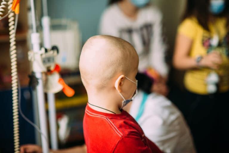 Oncology room childhood cancer