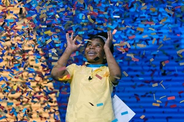 Zalia Avant-garde Scripps National Spelling Bee win