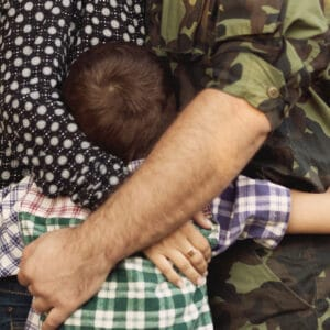 To the Military Mom Who's Exhausted and Overwhelmed
