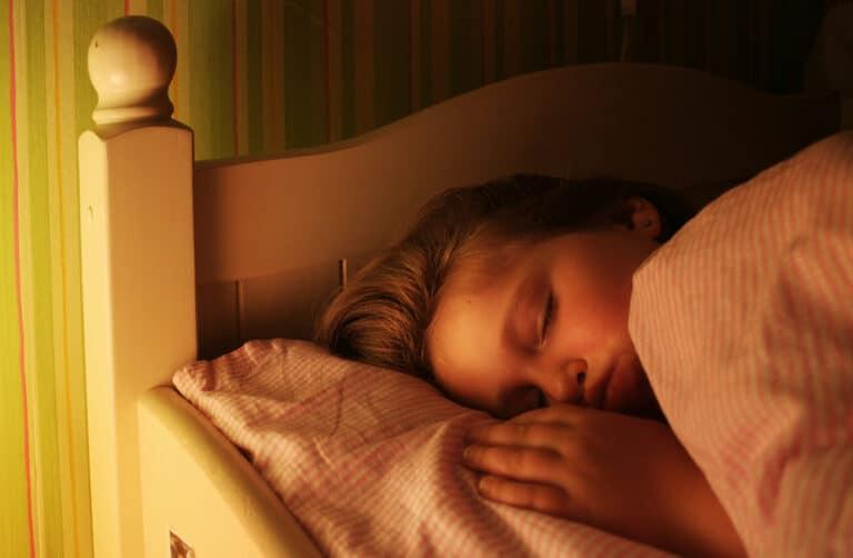 Little girl asleep