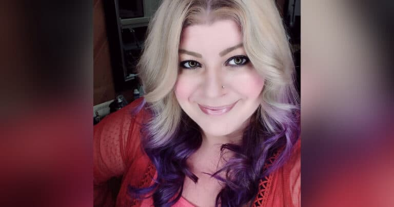 Headshot of woman, color photo