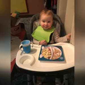 You Sat in Your High Chair For the Last Time Today